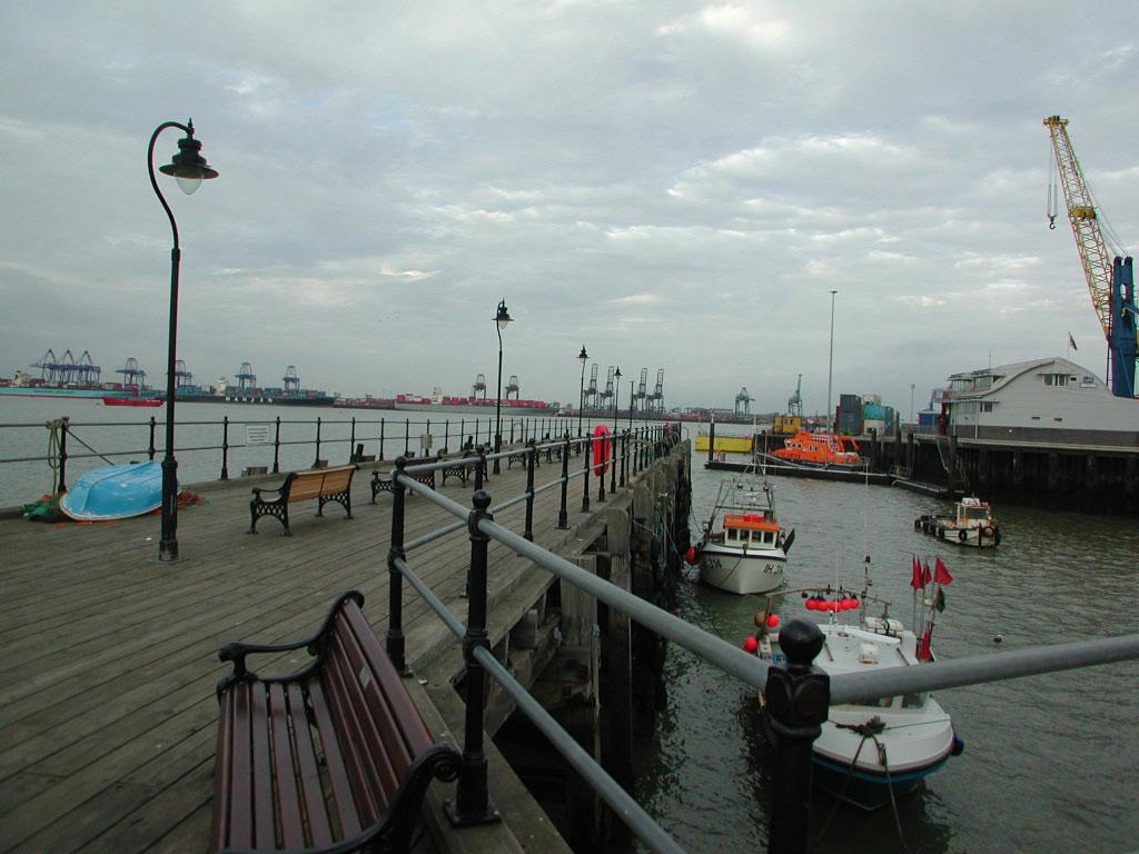 Harwich Ha'penny Pier
