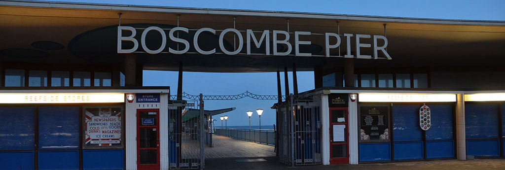 Boscombe Pier by Anya Chapman